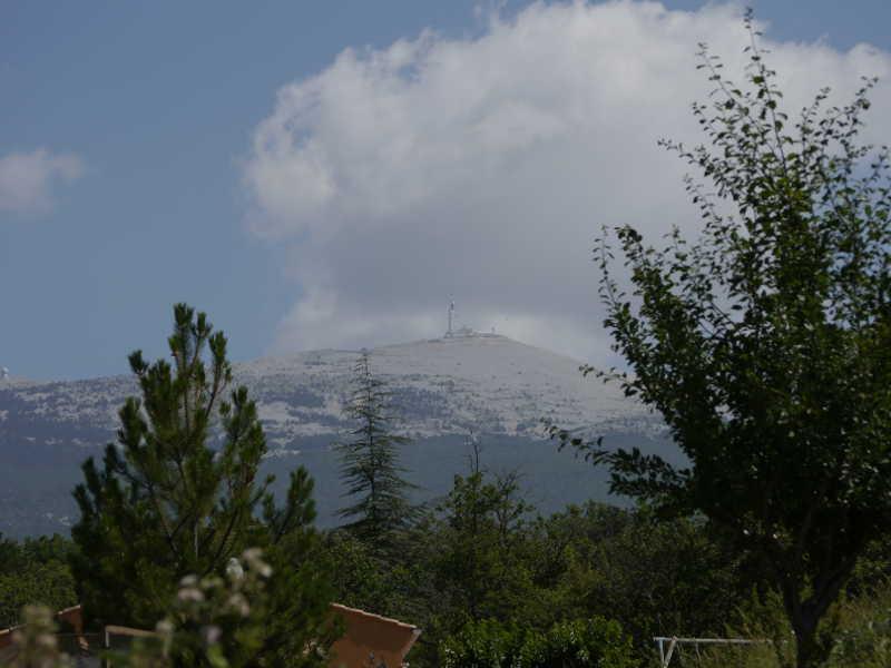 Der Mont Ventoux an einem schönen Tag